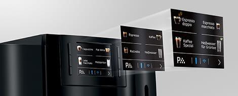 Machine à café E800 Piano Black 31