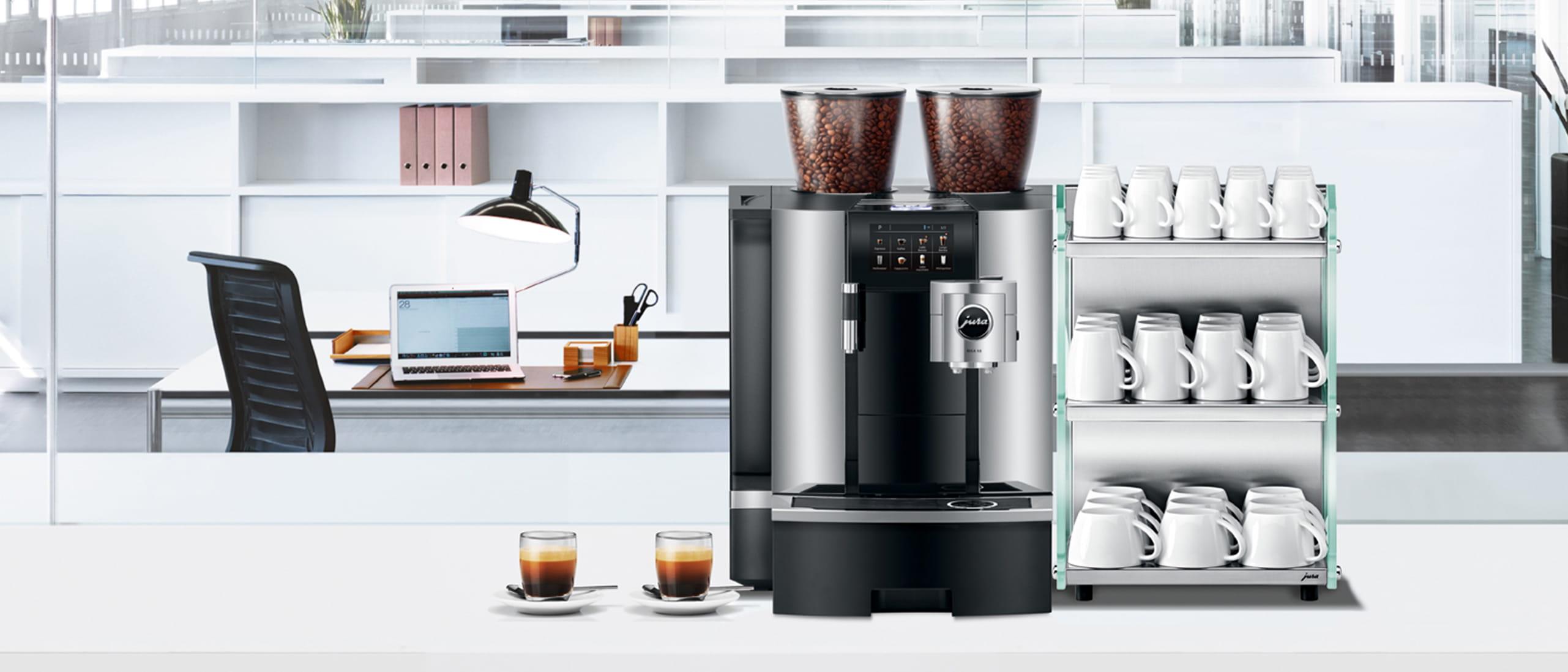 Professionelle Kaffeemaschine Am Arbeitsplatz Und Im Buro Jura Schweiz